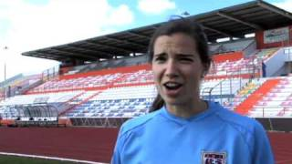 Trick Shot Battle - Tobin Heath vs. Yael Averbuch