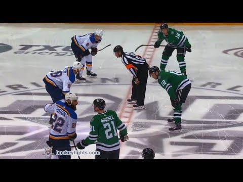 Antoine Roussel vs. Chris Thorburn