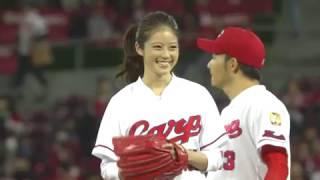 20171023「福岡で1番かわいい20歳」今田美桜がCS始球式