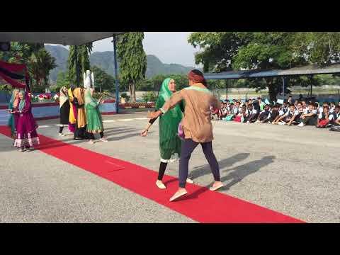 Ewah Joget : Persembahan Hari Guru 2018 Smk Seri Ampang Ipoh Perak (bole chudiyan)