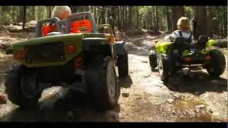 Power Wheels Off-Road Race - Dune Racer vs Jeep
