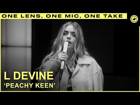 L Devine - Peachy Keen   THE EYE