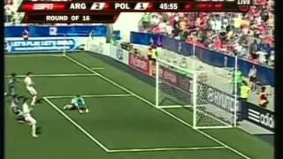 2007 (July 12) Argentina 3- Poland 1 (Under 20 World Cup)