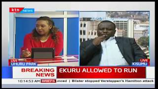 EKURU ALLOWED TO RUN: Is it a win?