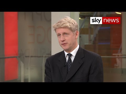 Former minister Jo Johnson on the 'flat no' given by Brussels to the PM over the backstop changes