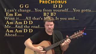 You and Me (Tom Petty) Guitar Cover Lesson with Chords/Lyrics - Munson