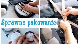 Sprawne pakowanie walizki + ochrona kosmetyków