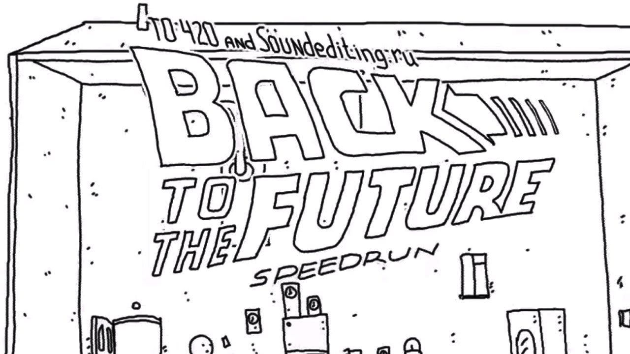 Watch Back To The Future In 60 Awesome Seconds Of Animation