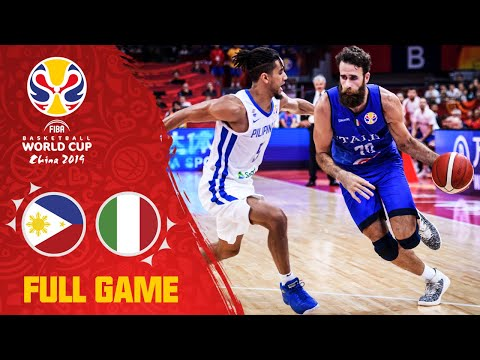 Philippines were NO MATCH for Italy! - Full Game - FIBA Basketball World Cup 2019