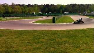 preview picture of video 'Kartfahren Walldorf 28.April.2012'