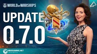 World of Warships -  Update 0.7.0