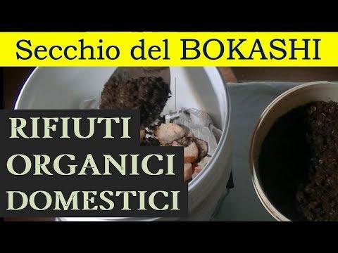 Il secchio di Bokashi: compostaggio a freddo dei rifiuti umidi