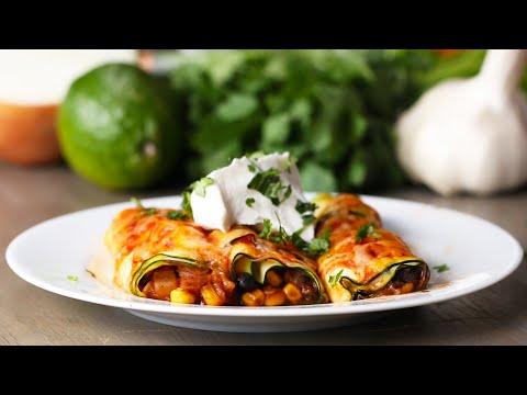 "Zucchini ""Enchiladas"""