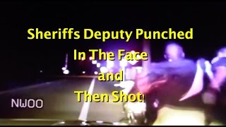 Indian River County Sheriffs Deputy Punched and Shot During Traffic Stop | Police Officer Shot