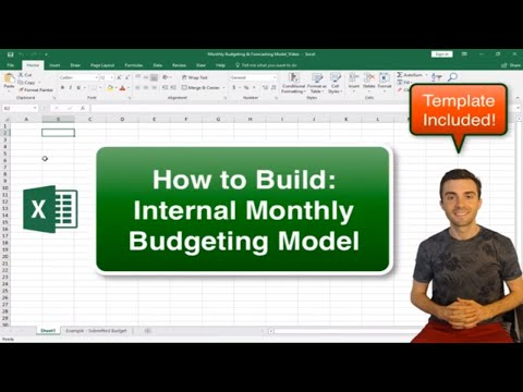 Monthly Budgeting & Forecasting Model [Template Included ...