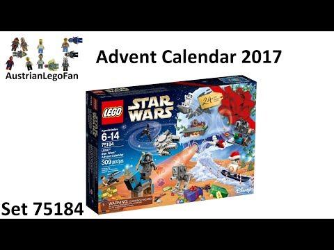 Vidéo LEGO Star Wars 75184 : Calendrier de l'Avent LEGO Star Wars 2017
