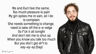 Post Malone, Young Thug   Goodbyes (Lyrics) 🎵