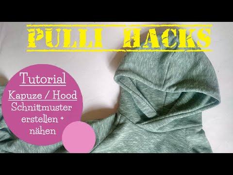 Kapuze Hoodie nähen | Schnittmuster erstellen | Pulli Hacks | DIY Nähanleitung | mommymade