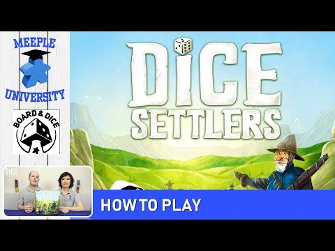 Dice Settlers Board Game – How to Play & Setup. BEST Tutorial