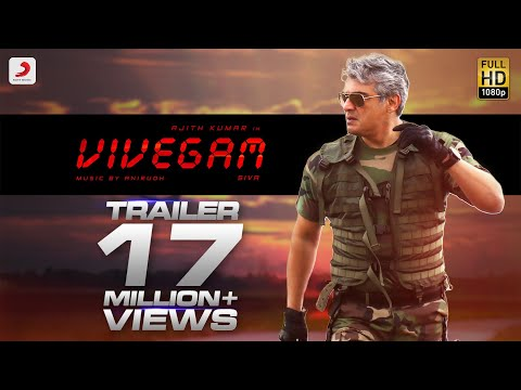 Vivegam Official Trailer - Ajith Kumar