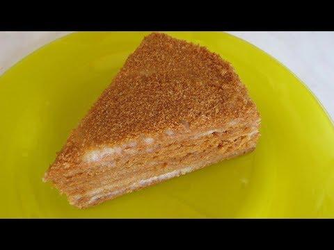 Торт МЕДОВИК Нежный как Пух, просто тает во рту! Новый Рецепт!