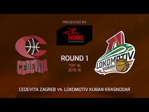 Highlights: Top 16, Round 1, Cedevita Zagreb 75-89 Lokomotiv Kuban Krasnodar
