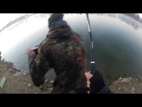 Serie per una pesca di caccia di ricamo