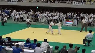 11日郡山総合体育館柔道女子個人52kg級児玉風香vs盛内茉彩紀2回戦