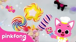 🍭How to make Lollipop with Clay   Clay Bakery   Pinkfong Clay Time