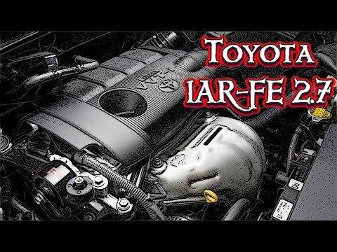 Фото к видео: Двигатель Toyota 1AR-FE 2,7 литра - Надежен, Но Не Капиталится!