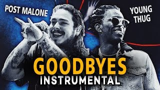 Post Malone & Young Thug   Goodbyes (Instrumental) [Reprod. By Diamond Style]