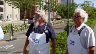 Fish Mavericks Jon and Jerry lost in NYC