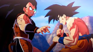 Dragon Ball Z Kakarot - Saiyans Saga Movie All Cutscenes Gohan, Goku, Vegeta, Piccolo, Nappa, Raditz