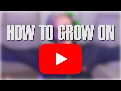 HOW TO GET BIG ON YOUTUBE?