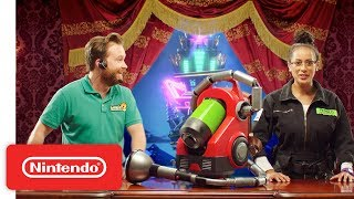 Luigi's Mansion 3 - Meet the New Poltergust G-00! - Nintendo Switch