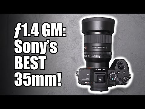 External Review Video yJpUC-b1acw for Sony FE 35mm F1.4 GM Lens