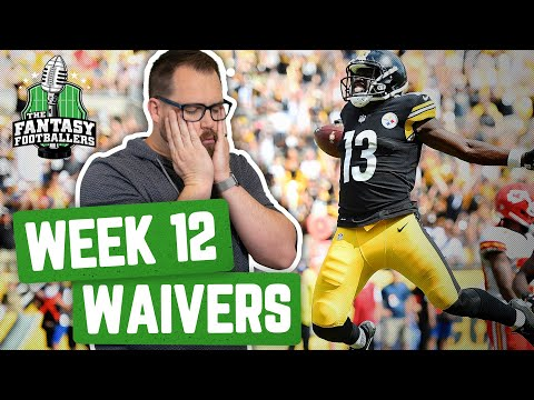 Fantasy Football 2019 - Week 12 Waivers + Full Stream Ahead, The Crushed Soul of Jason - Ep. #821