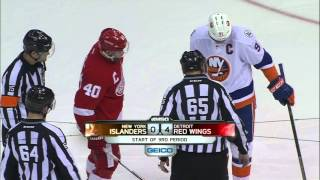 Gotta See It: Zamboni causes delay between Islanders, Red Wings