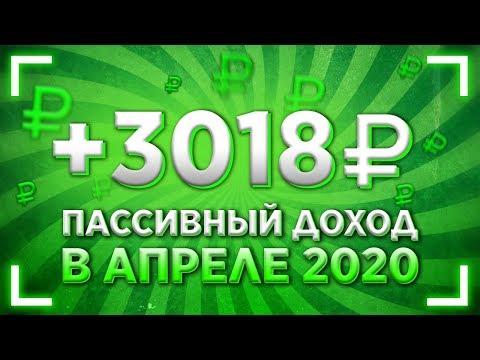 💵 Пассивный доход в апреле 2020 года. Выплата дивидендов.