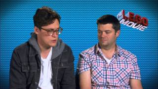 The Lego Movie: Directors Phil Lord & Christopher Miller On Set Movie Interview