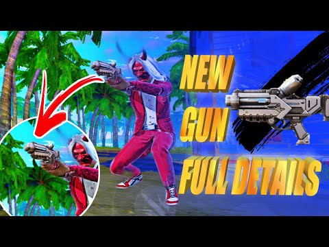 NEW GUN IS COMING - HOW TO USE !! NEW ITEM DETAILS - Garena Free Fire