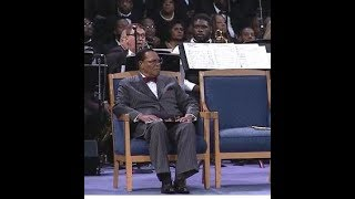 So...The Aretha Franklin Funeral: Why Didn't Min. Louis Farrakhan Get To Speak?