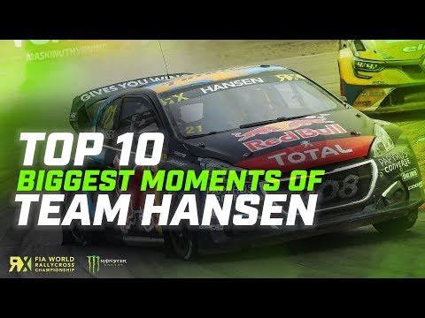 【世界ラリークロス 2019総集編動画】WRX2019 TeamHANSENのTop10総集編動画