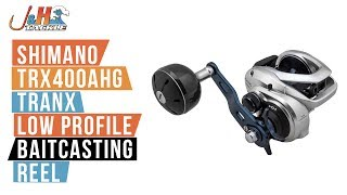 Shimano Tranx 400 TRX400AHG Low Profile Baitcasting Reel | J&H Tackle