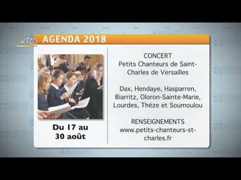Agenda du 16 juillet 2018
