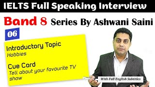 Band 8 IELTS Speaking | Cue Card - Favourite TV Show | IELTS Interview Sample