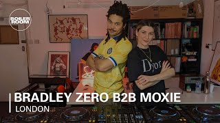 Bradley Zero b2b Moxie - Live @ Boiler Room x Rhythm Section with Beefeater 2021