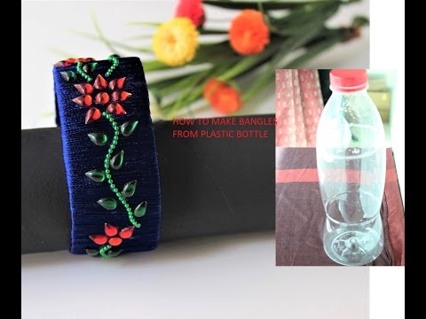 Annie 39 s blog of love best out of waste diy silk thread for Waste out of best from bangles