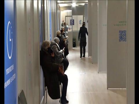 """Ξεκίνησαν οι εμβολιασμοί στο κτίριο """"Προμηθέας"""""""