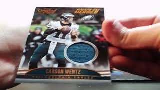 10-07-2017  2017 Panini Certified Cuts Football 4 Box Break  AUTO MOJO!